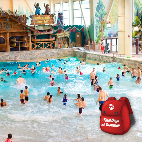 Wave goodbye to summer  | Great Wolf Lodge Indoor Water Park
