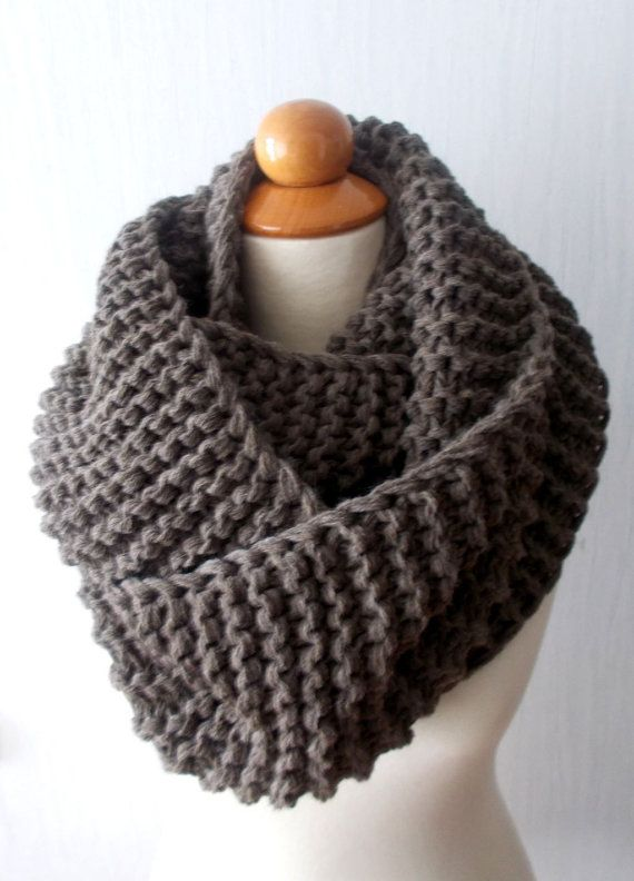Knitted Cowl Brown Cowl Cowl Crochet Cowl Beautiful Cowl Elegant Cowl Hand-Made Cowl