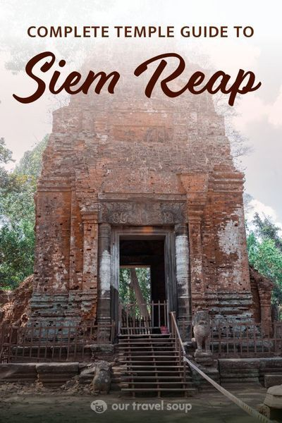 Discover this list of 13 temples to see in Siem Reap and beyond. This three day guide covers a lot of the popular temples, as well as some more remote and less visited spots. This includes the famous Angkor Wat complex, Angkor Thom, the remote temples of Koh Ker and Beng Mealea, and much more! Follow the link to learn more! | #siemreap #cambodia #cambodiatravel #temple #templetravel #travelguides #travelinspiration | Siem Reap Temple Guide | Things to Do in Cambodia | Temples in Cambodia