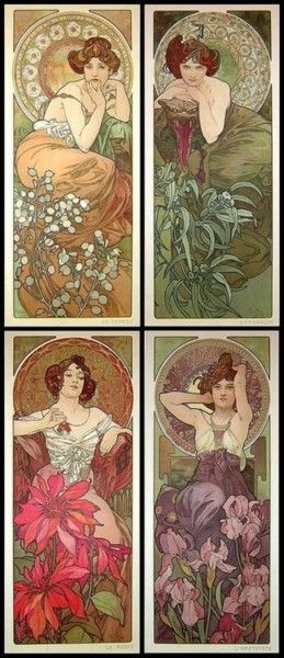Alfons Mucha...still adore his work