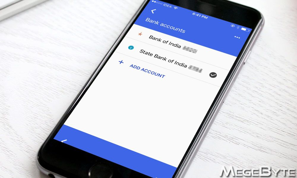 How to Add Multiple Bank Accounts in Tez App by Google