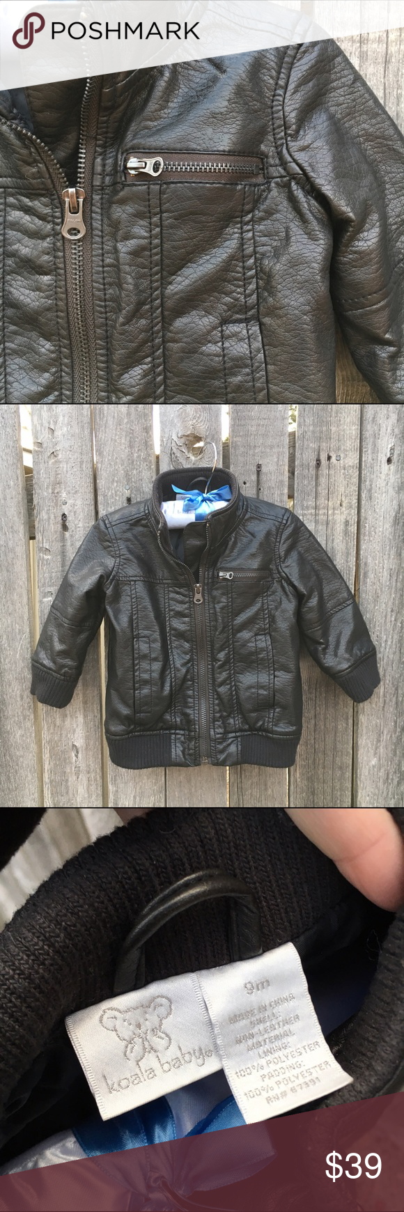 aa9290896175 Koala Kids Brown Bomber Jacket 12 MOS Like new condition! Only worn ...