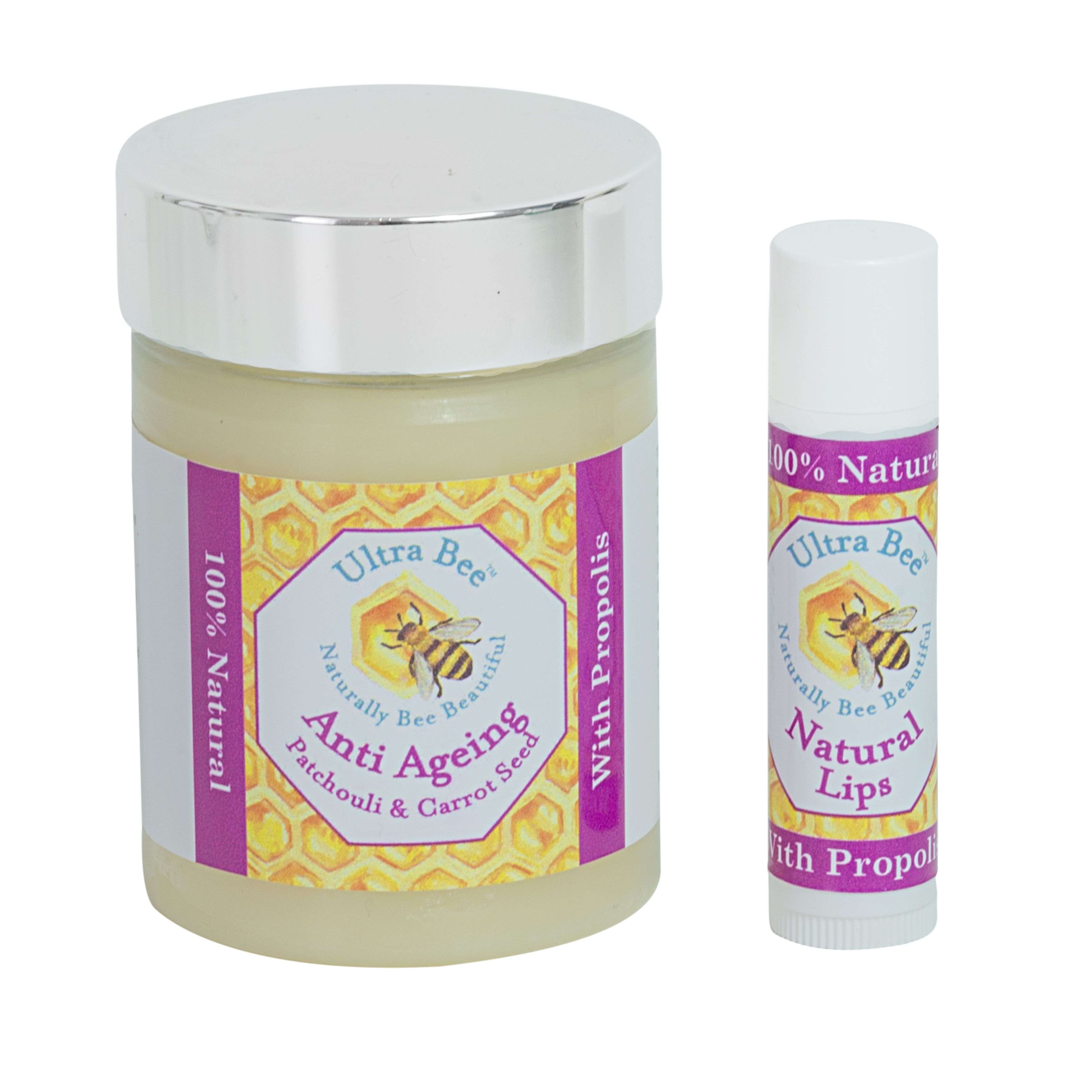 100% Natural Face Moisturiser Ultra Bee's Uniquely Formulated