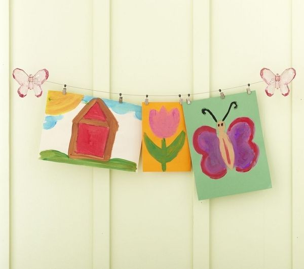 Deko selber machen kinderzimmer  Kinderzimmer-Deko-Hängend-Bilder-selber-machen.jpeg (600×530 ...