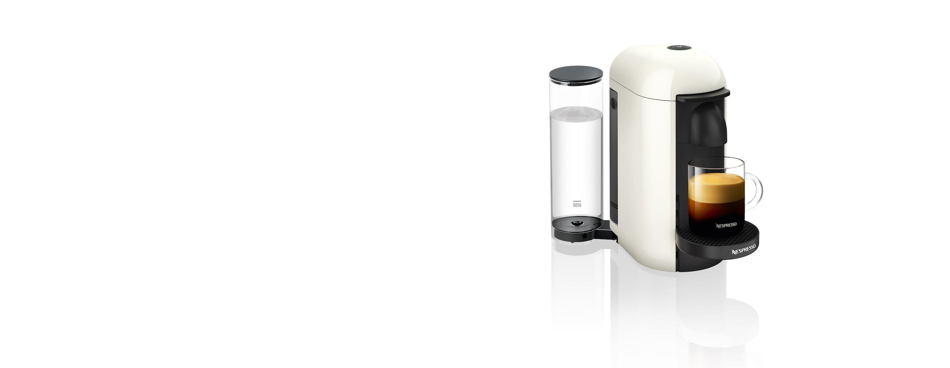 VertuoPlus White Vertuo Coffee Machine Nespresso USA