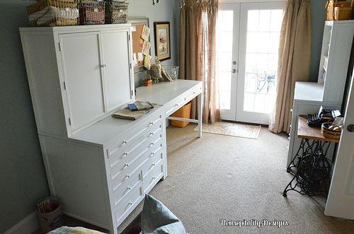 My New Craft Areau2026{Martha Stewart Craft Furniture Collection}