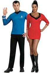 Star Trek Couples Costumes  sc 1 st  Pinterest & Star Trek Couples Costumes | Halloween Costume Ideas | Pinterest ...