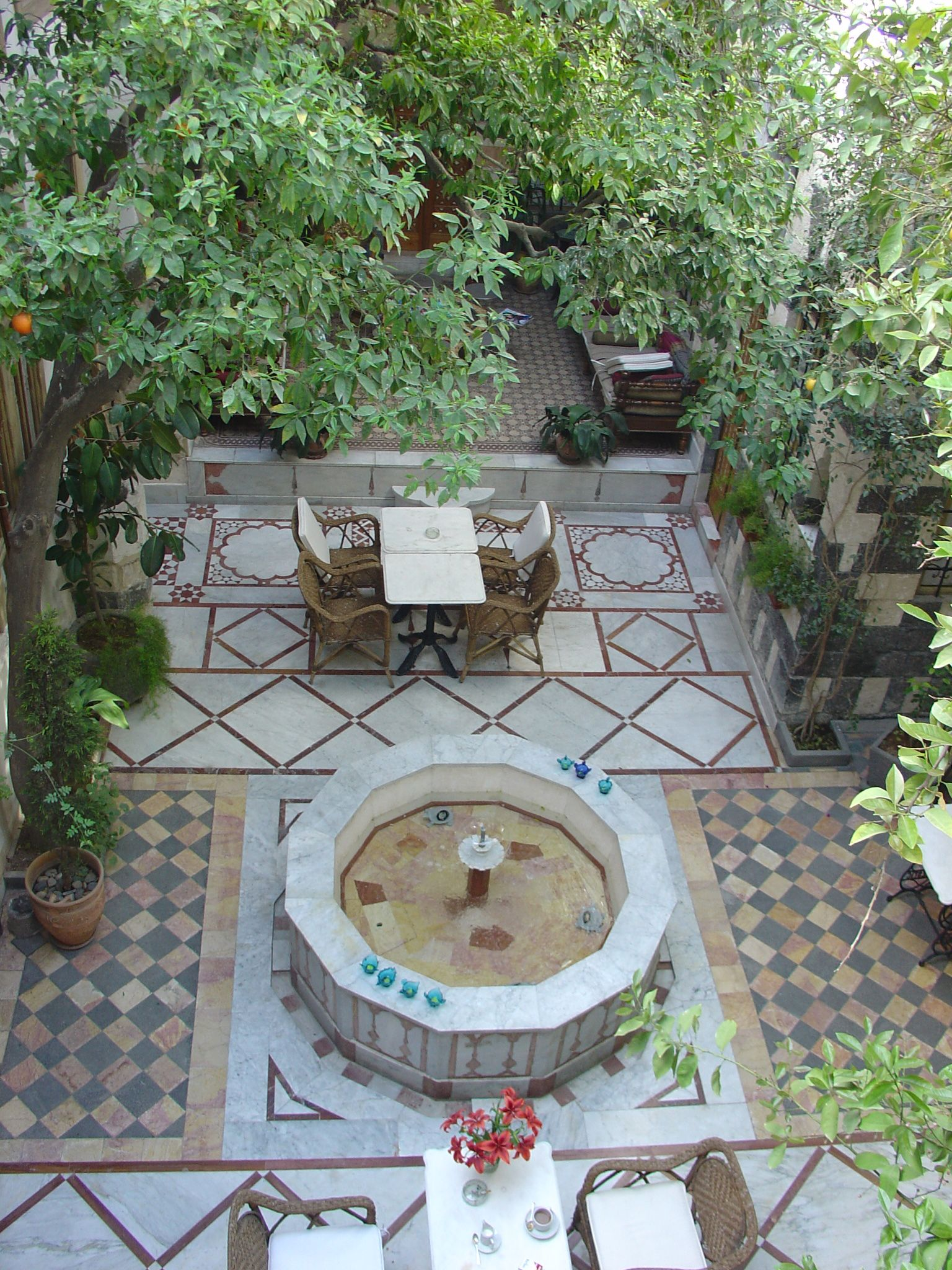 Arab House Damascus Syria Reminds Me Of The House A