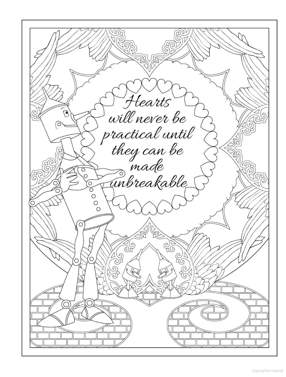 Creative Haven Wizard Of Oz Designs Coloring Book In 2020 Designs Coloring Books Coloring Books Wizard Of Oz