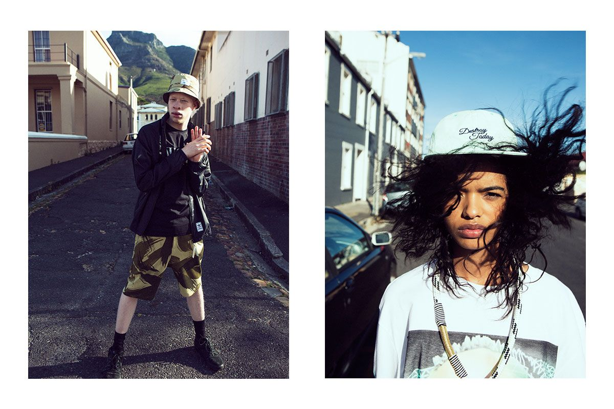 """For our latest editorial, titled """"It's Zef,"""" we take you to South Africa, where the fashion scene is growing into its own."""