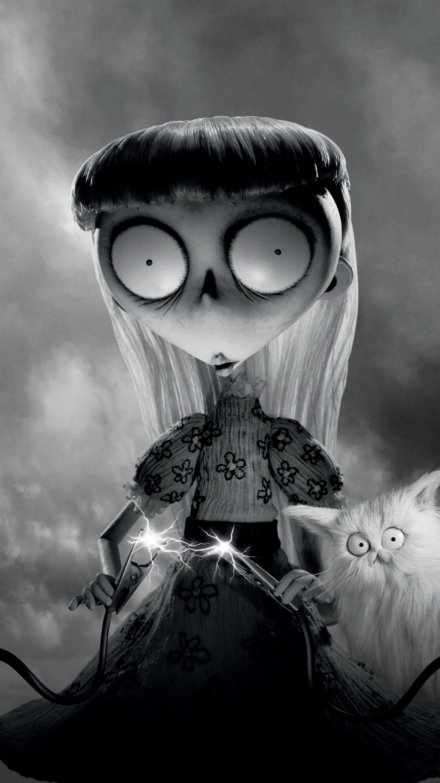 Frankenweenie 2012 Phone Wallpaper Moviemania Tim Burton Animation Tim Burton Films Tim Burton Characters