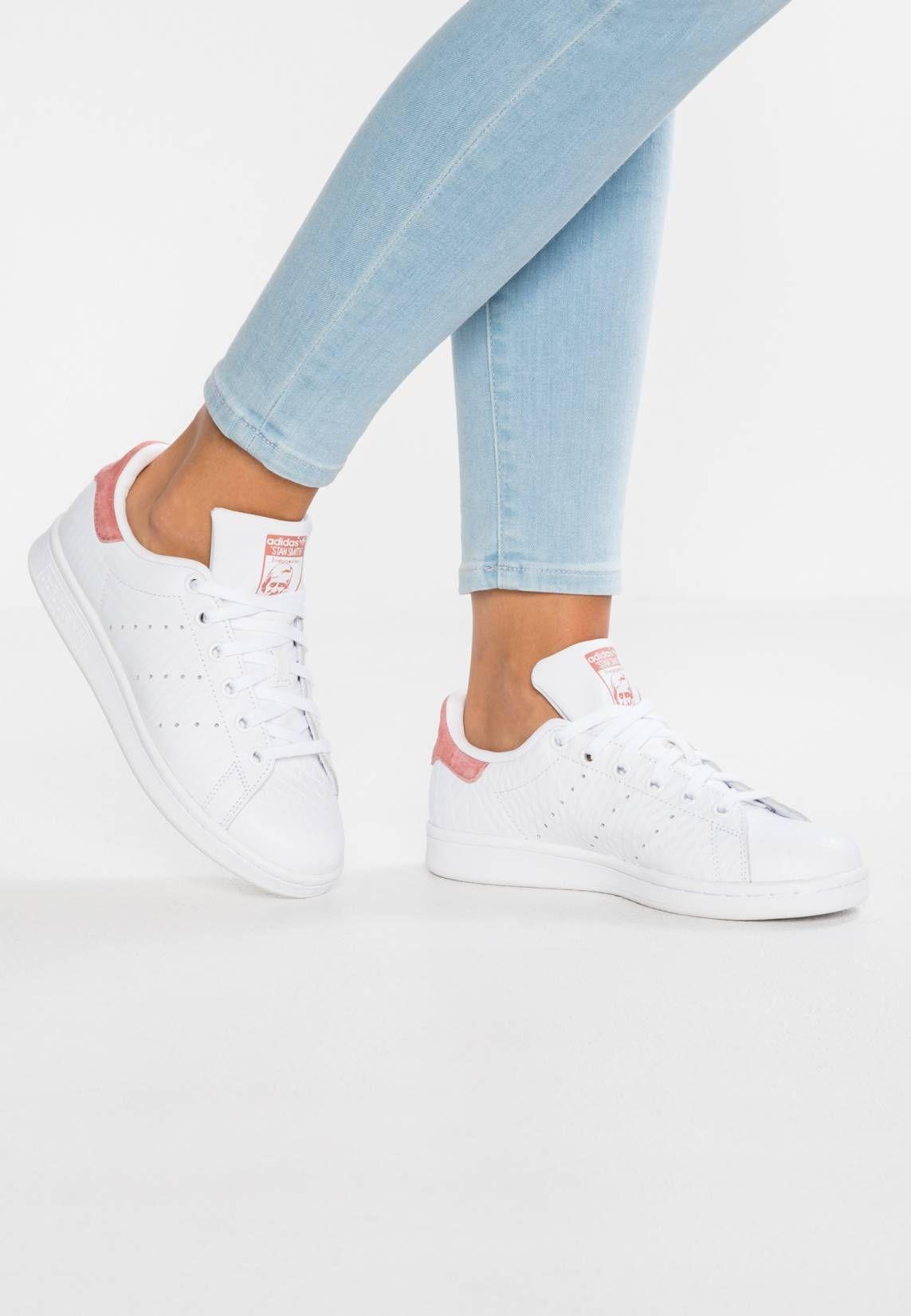 nouvelle arrivee c1319 77f66 STAN SMITH - Sneaker low - footwear white/raw pink | Zalando ...