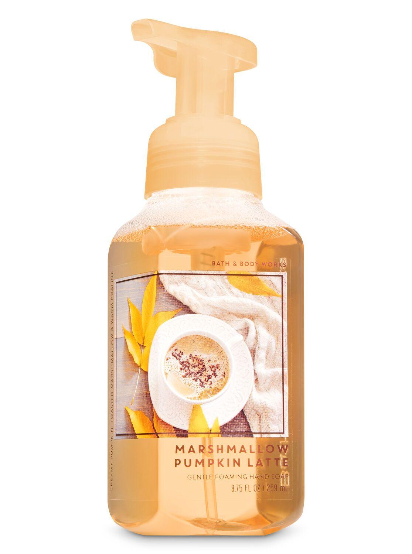 Marshmallow Pumpkin Latte Gentle Foaming Hand Soap Bath Body