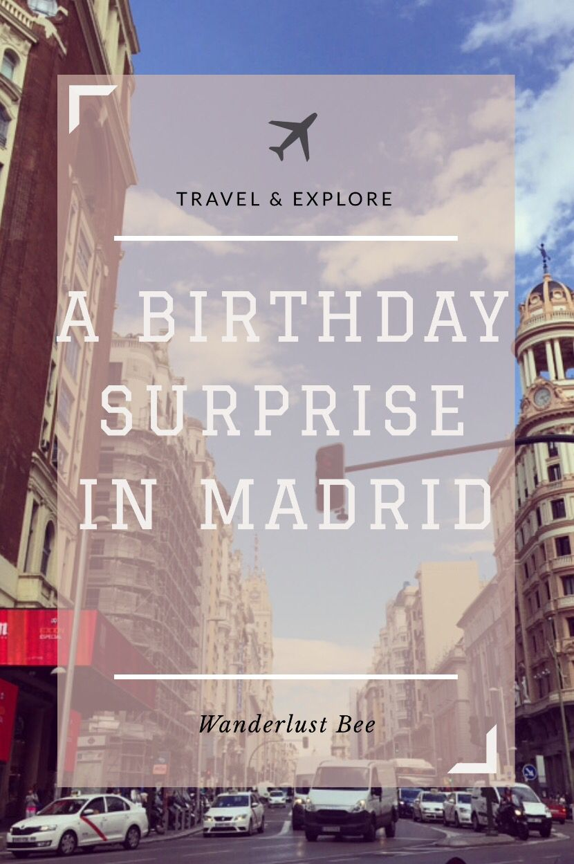 Read all about my surprise trip to Madrid what we got up to and food we ate!
