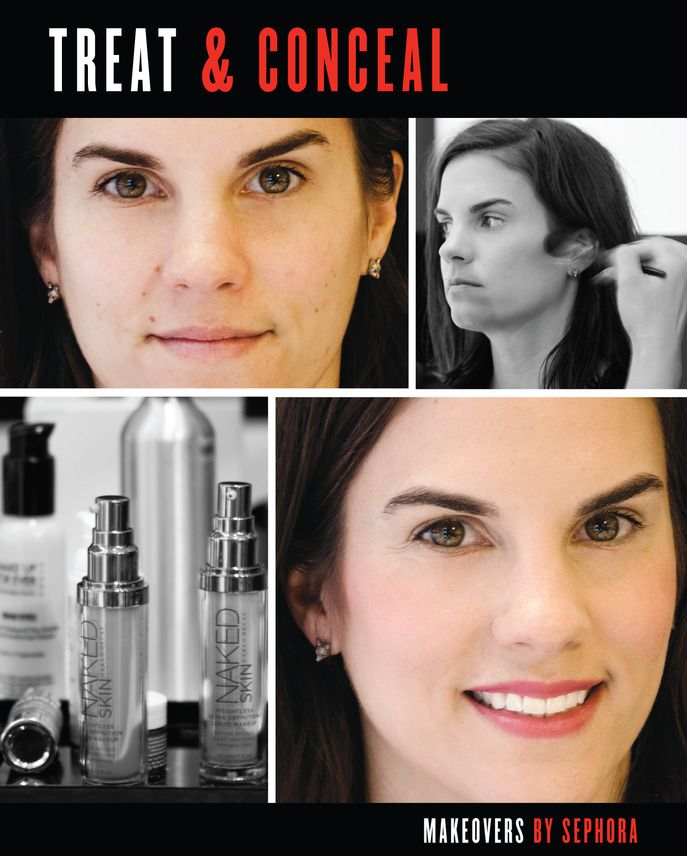 Mini Makeover Treat Conceal Learn 4 Easy Steps To Faking A Full Night S