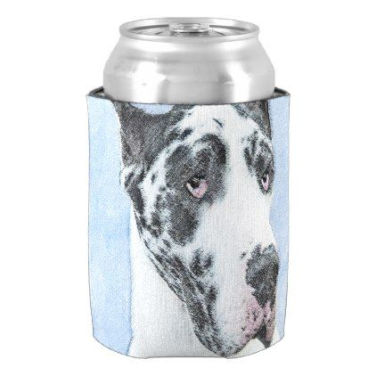 Great Dane Harlequin Can Cooler Great Dane Puppy Danes