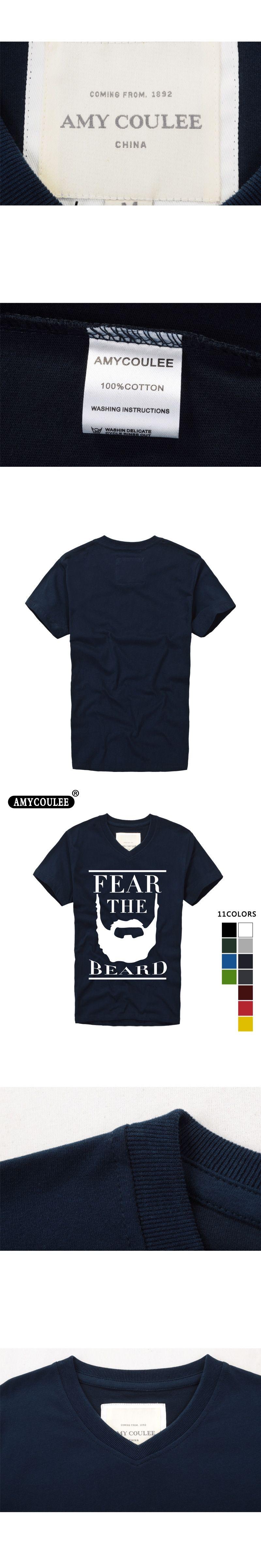 732cc697ab47 Fashion Design T shirt print James Harden Fear the Beard Mens   Womens V  neck T Shirt Custom T Shirt camisetas hombre tshirt