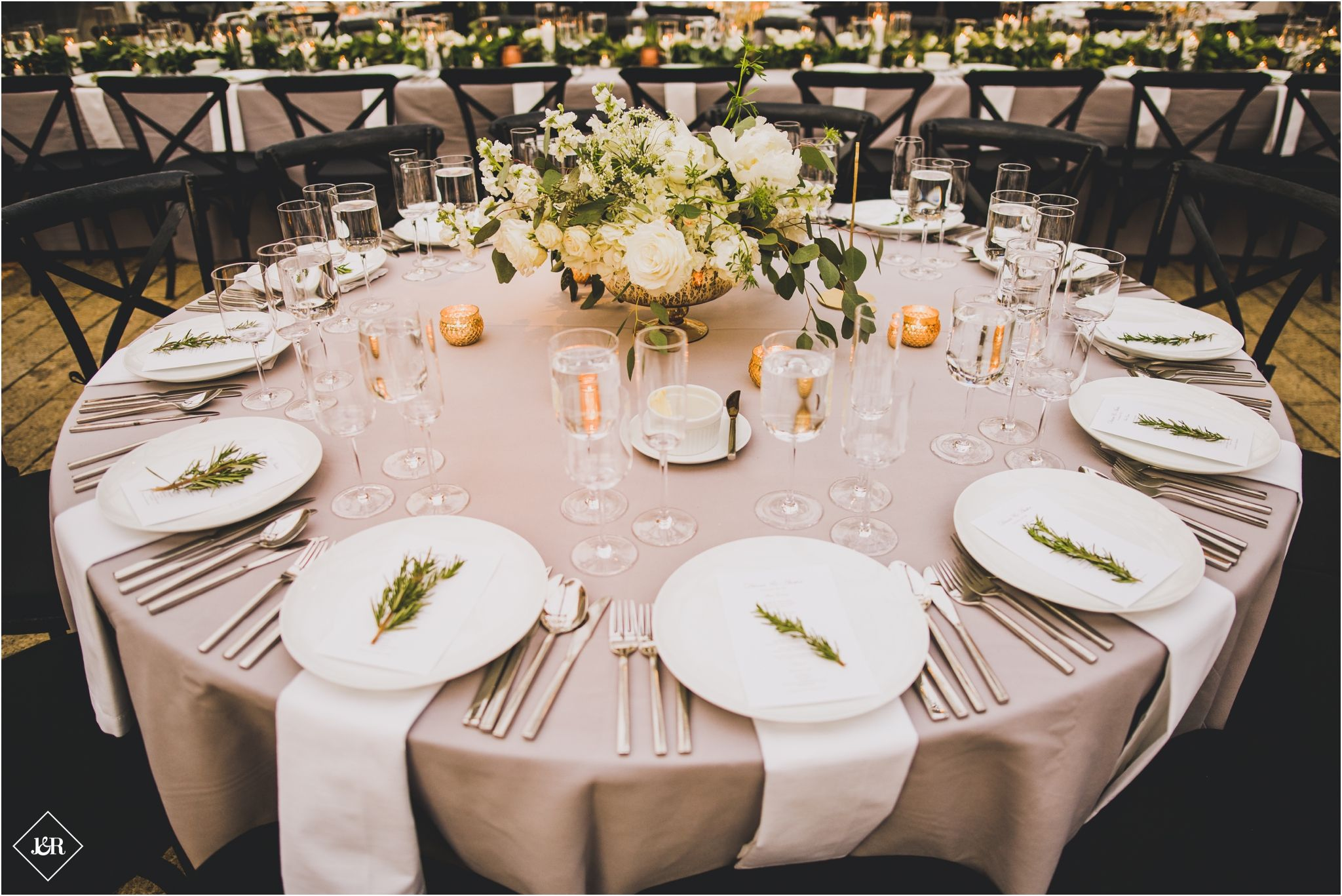 The Foundry Wedding Wedding reception decorations