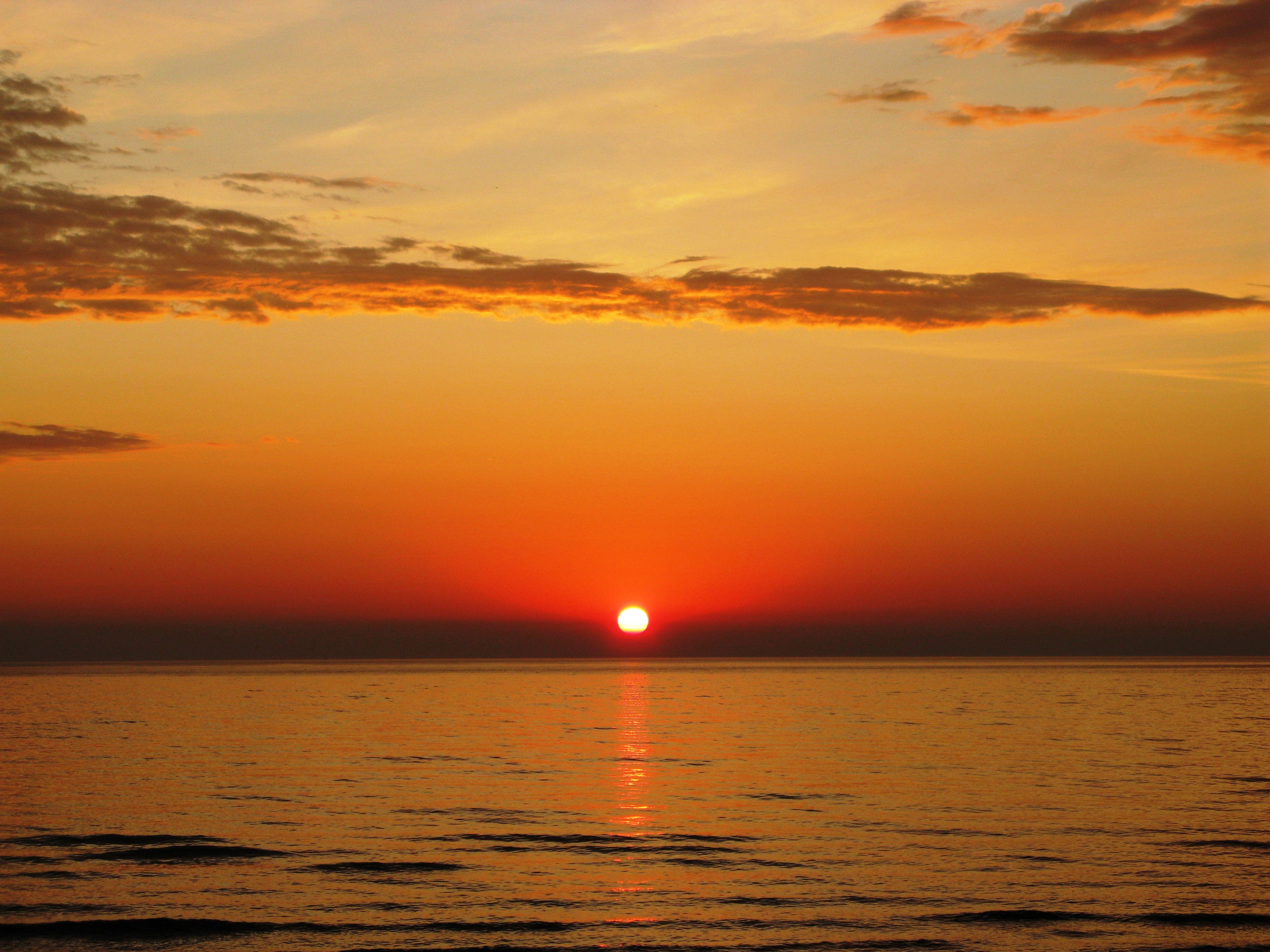 """""""Summer Sunrise"""", Heringsdorf, Usedom, Ostsee, Germany"""