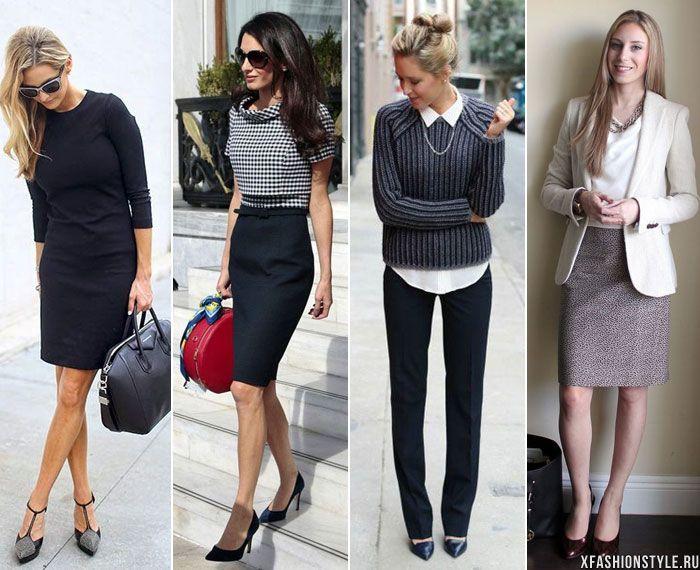 деловой стиль одежды для девушек на работу фото