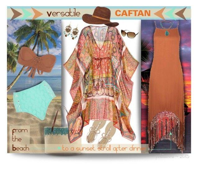 """Versatile Calypso St. Barth Draci Caftan"" by pwhiteaurora ❤ liked on Polyvore"