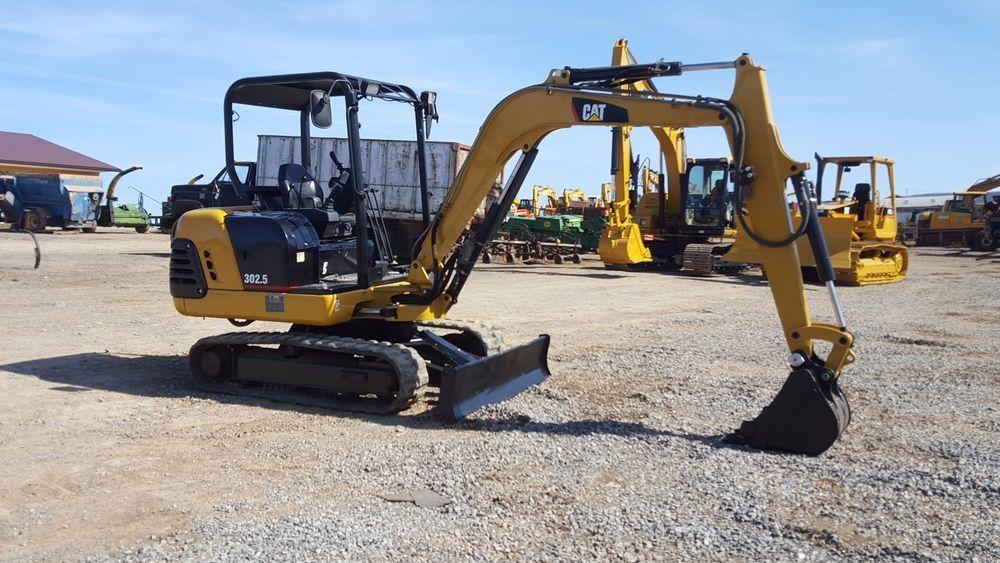 2002 Caterpillar 302.5 Mini Excavator Diesel Rubber Track