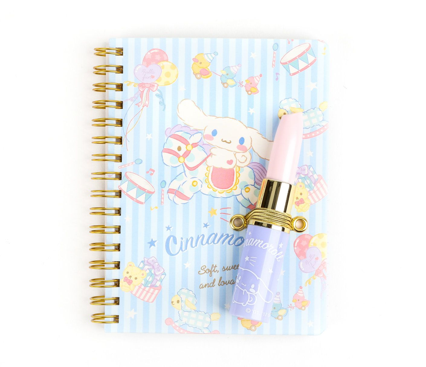 Cinnamoroll Notebook & Pen Set Lipstick Pen sets, Hello