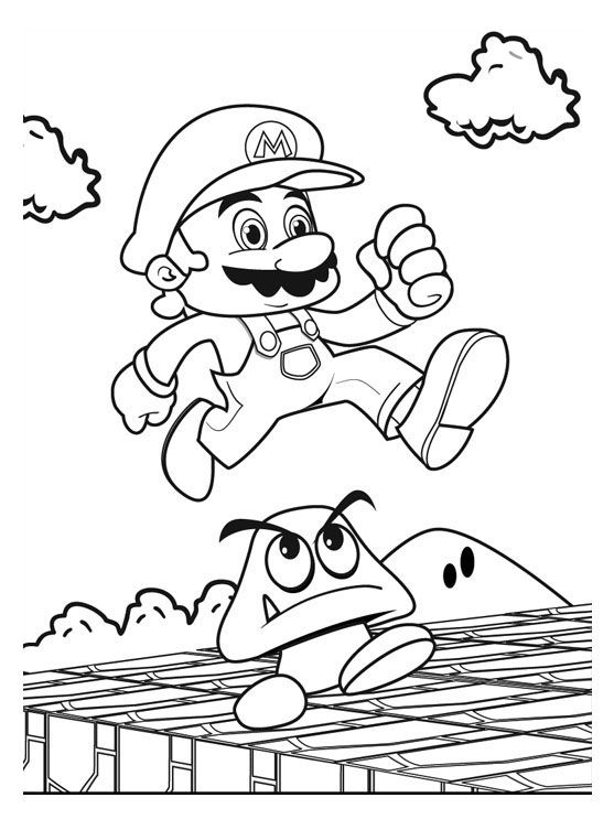 super mario coloring pages  best coloring pages for kids