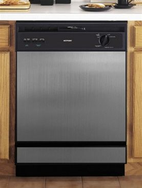 Stainless Steel Dishwasher Cover Kickplate Panel Faux Stainless Steel While  Transitioning Appliances??