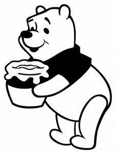 Com Mel Ursinho Puff Pooh Ursinho Pooh