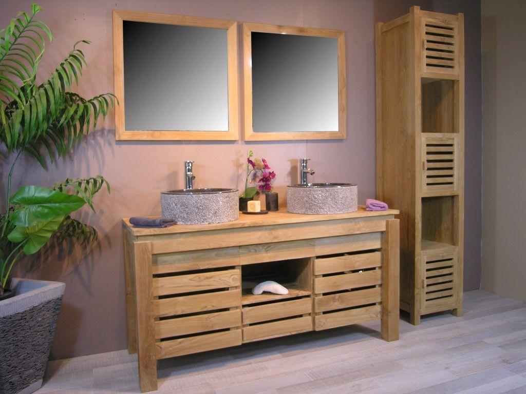 Decoration De Maison Meuble Salle De Bain En Bois Meuble Salle De Bain Zen Bois Meuble Salle De Bain En Bois 90 In 2020 Home Remodeling Bathroom Stool Bathroom Vanity