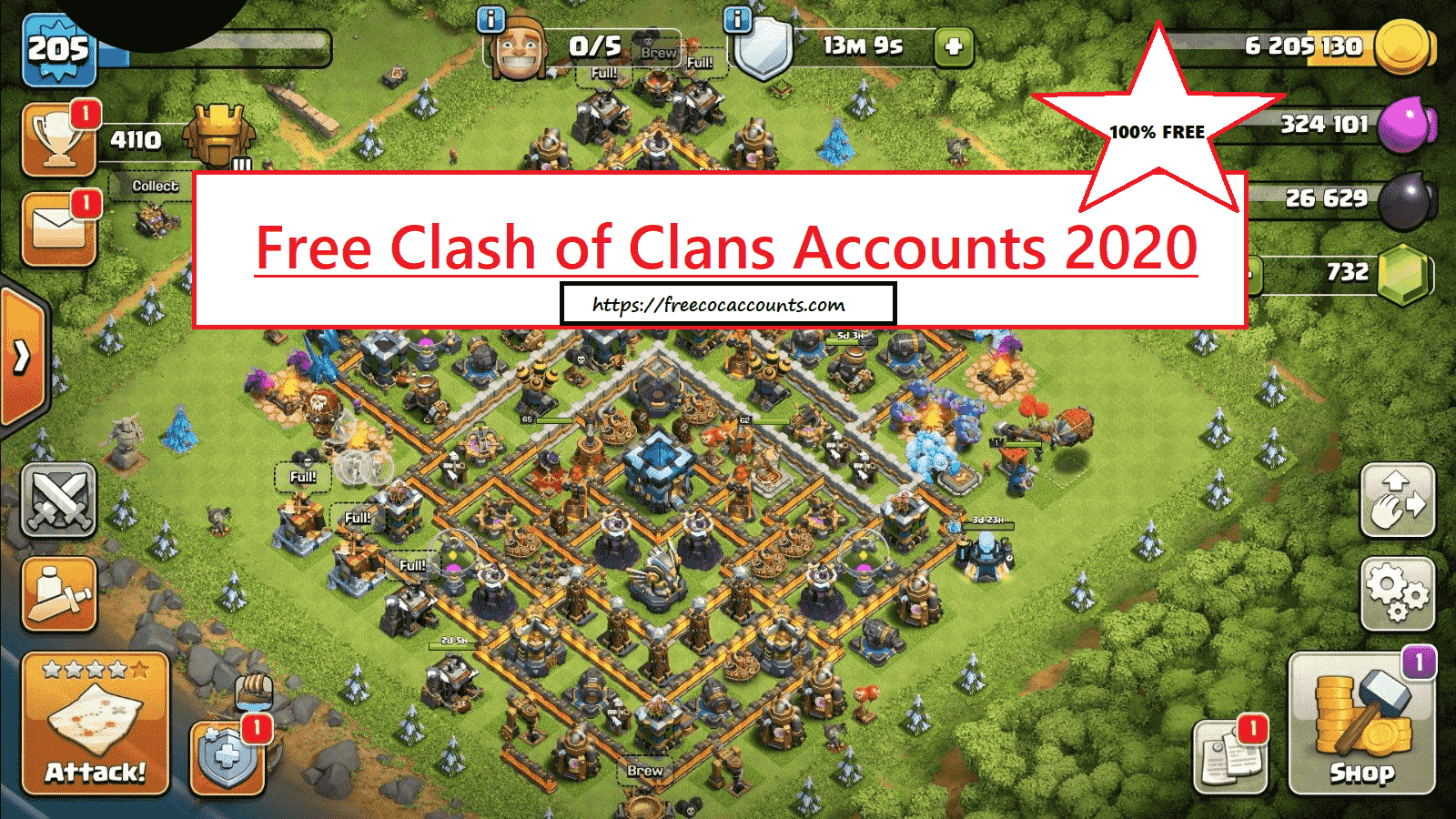 Free Clash Of Clans Accounts 2020 Free Coc Accounts 2020 Free Coc Acc Clash Of Clans Account Clash Of Clans Clash Of Clans Free