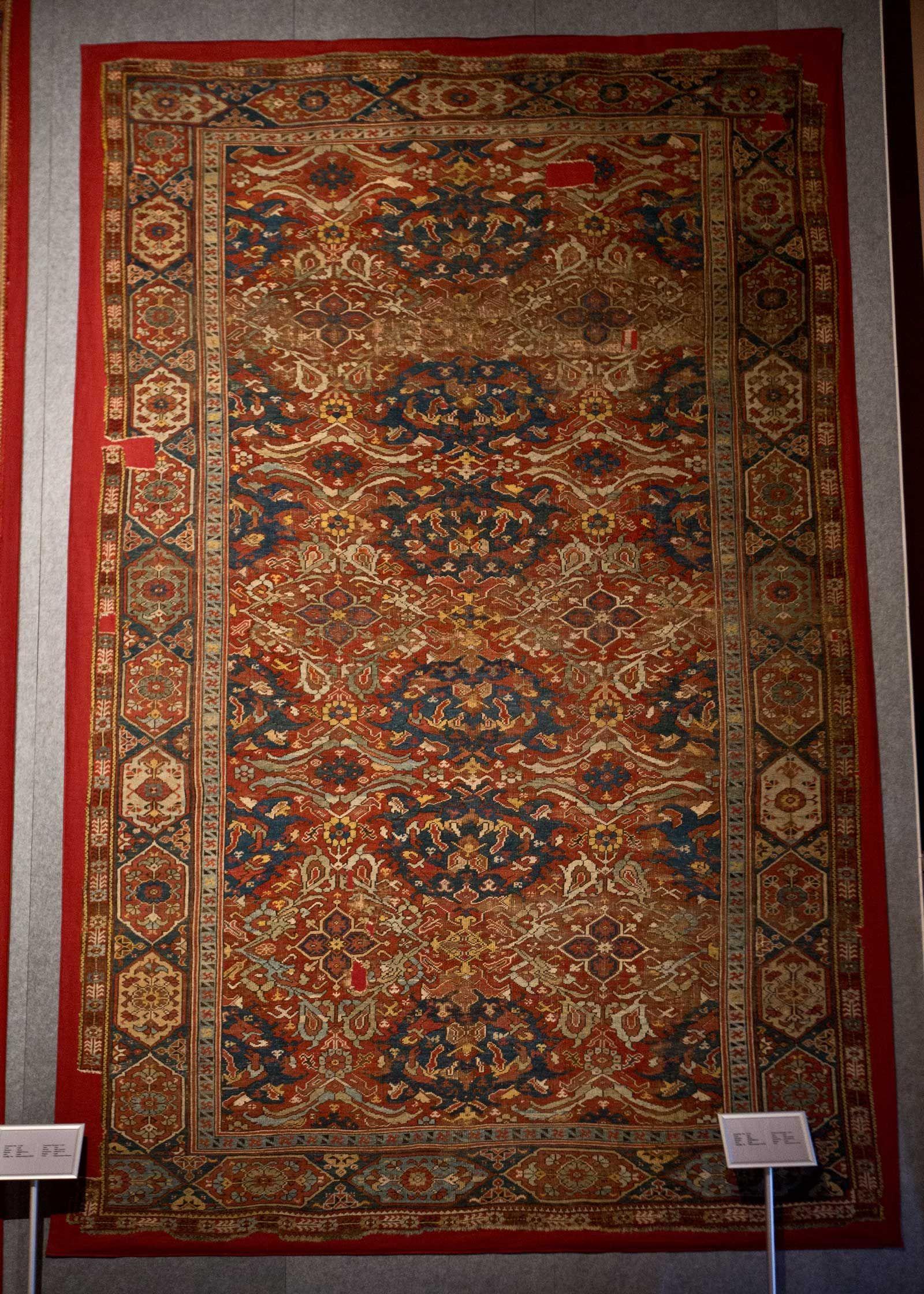 Vakiflar Carpet Museum Istanbul With