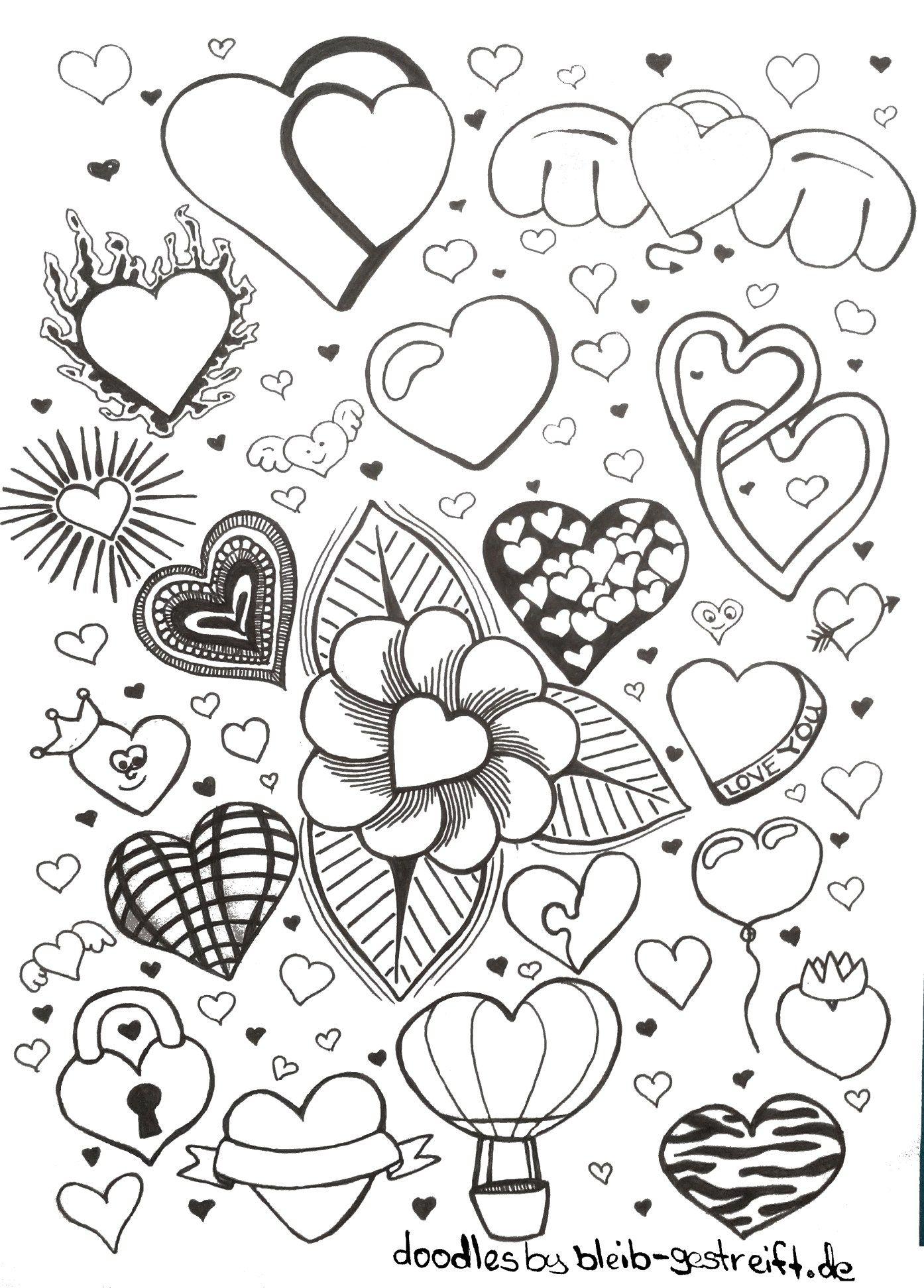 Bilder zeichnen herz Vorlagen Herz