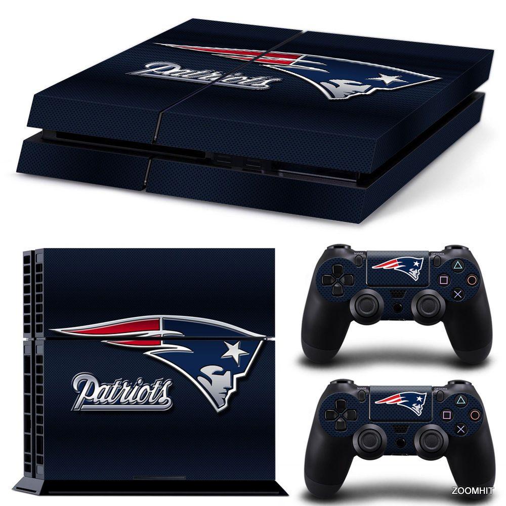 Xbox One Console Skin Decal Sticker New England Patriots 2 Controller Skins Xbox One Console New England Patriots Xbox One
