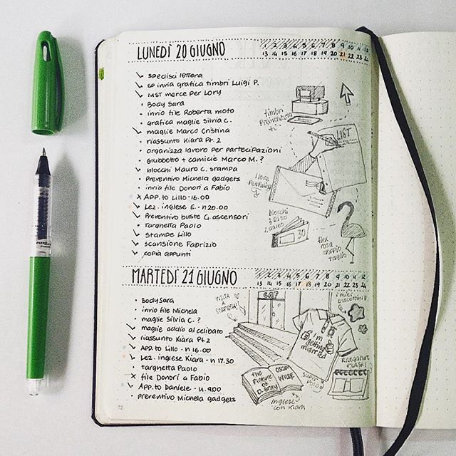 I love minimalist bullet journal, but I also like drawing ...