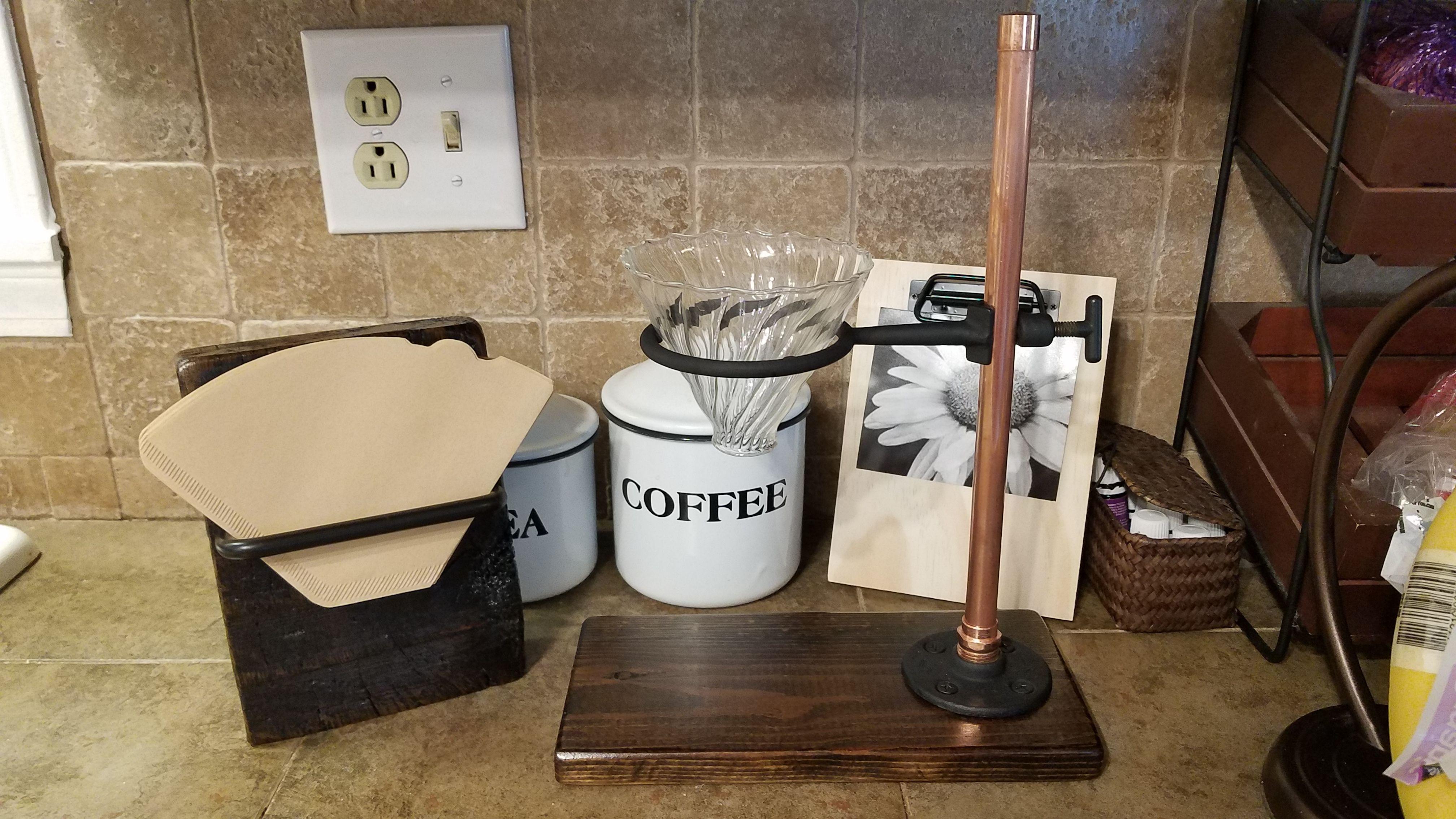 Homemade Coffee Pour Over Copper Fittings Minwax Dark Walnut Homemade Coffee