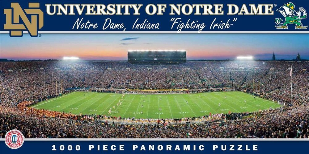 University Of Notre Dame Football Stadium Jigsaw Puzzle 1000 Pc