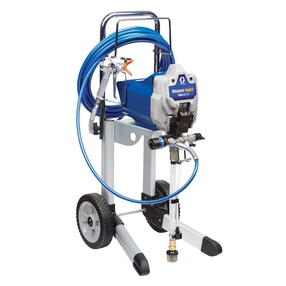 Graco Magnum Prox17 Cart Airless Paint Sprayer In 2020 Paint Sprayer Graco Paint Supplies