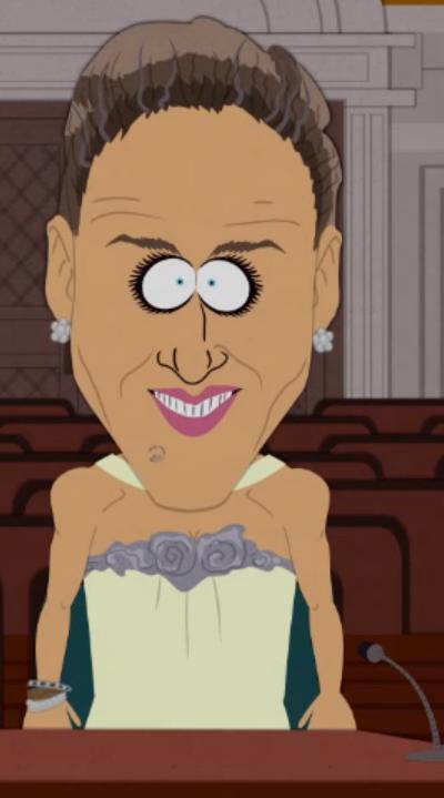 Sarah Jessica Parker on South Park.  Gotta love it.  :)