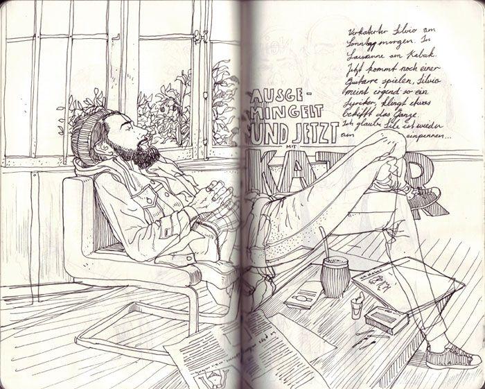 SKETCHBOOK 09-12.2011 - Jared Illustrations