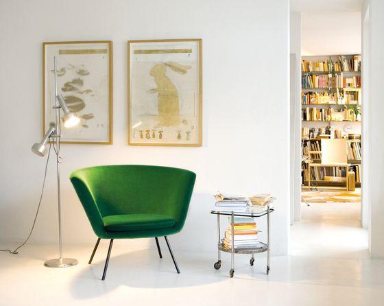 Armchairs | Seating | H 57 | Lampert, Richard | Herbert Hirche.