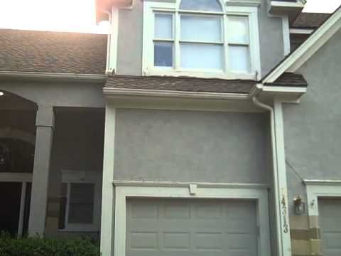 This Video Is Of A Home In Overland Park Ks That Was In Need Of Some Wood Rot Repair And House Painting Using Sherwi House Painting Overland Park Cement Color