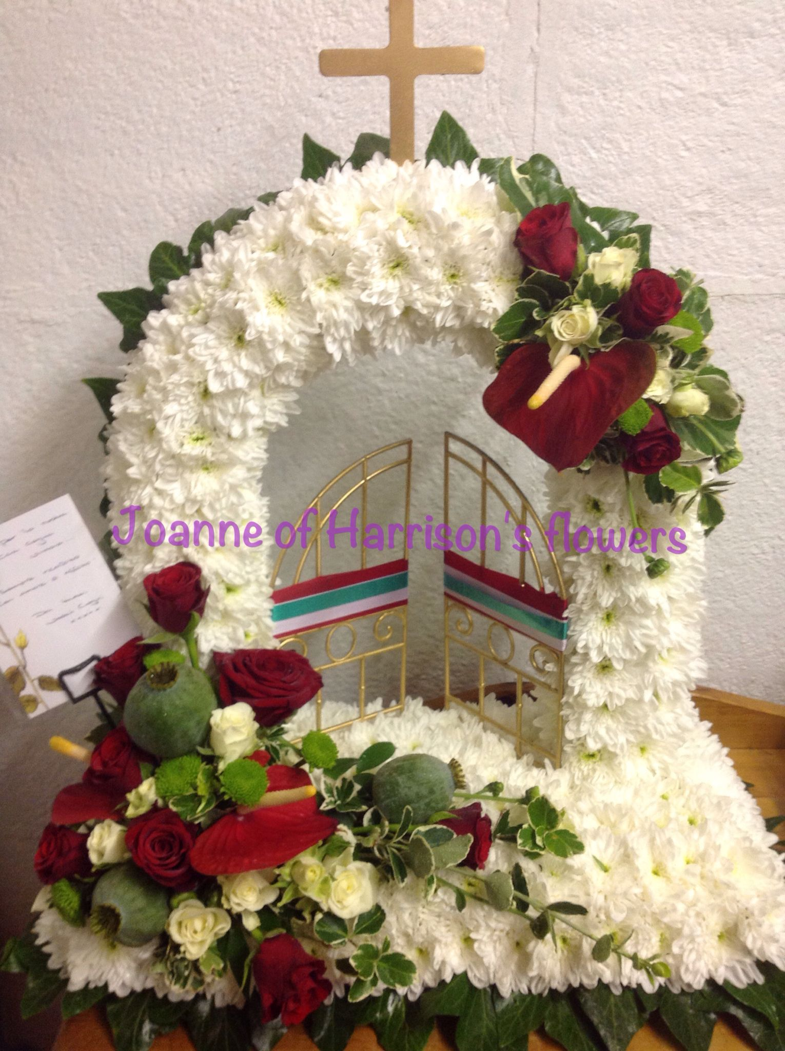 Gates of heaven in the colours of italy by joanne of harrisons gates of heaven in the colours of italy by joanne of harrisons flowers izmirmasajfo