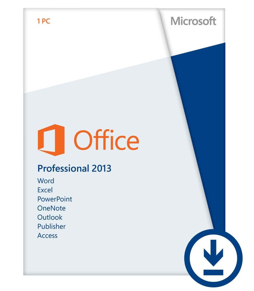 Microsoft Office Professional 2013 (Download) $219.99 | Cheap ...