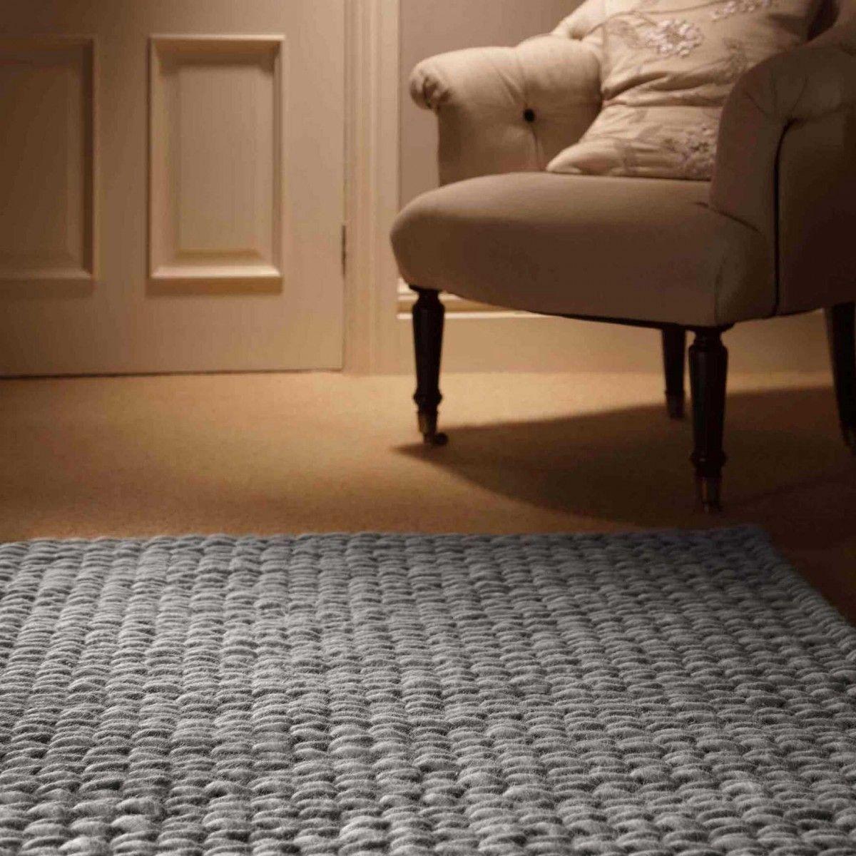 Fusion Grey Rug Contemporary Theruguk