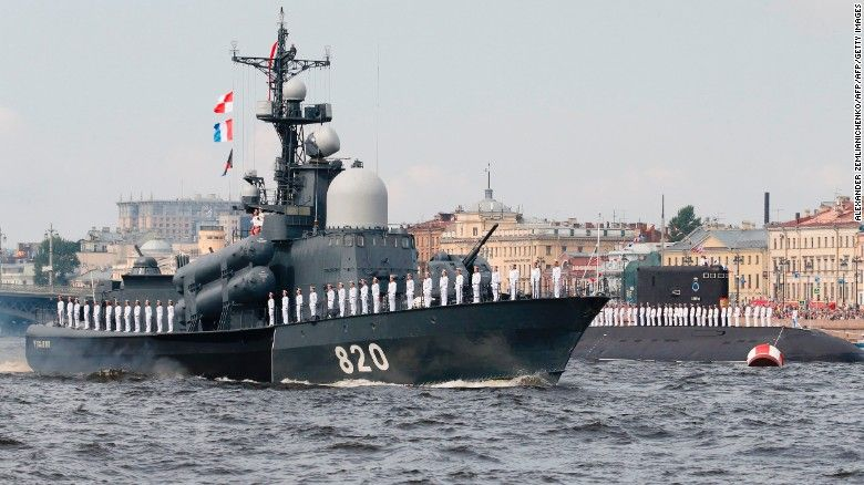 Russia Flaunts Military Might Across The World With Navy Day Celebrations Celebrity News Navy Day Russian Submarine Russia