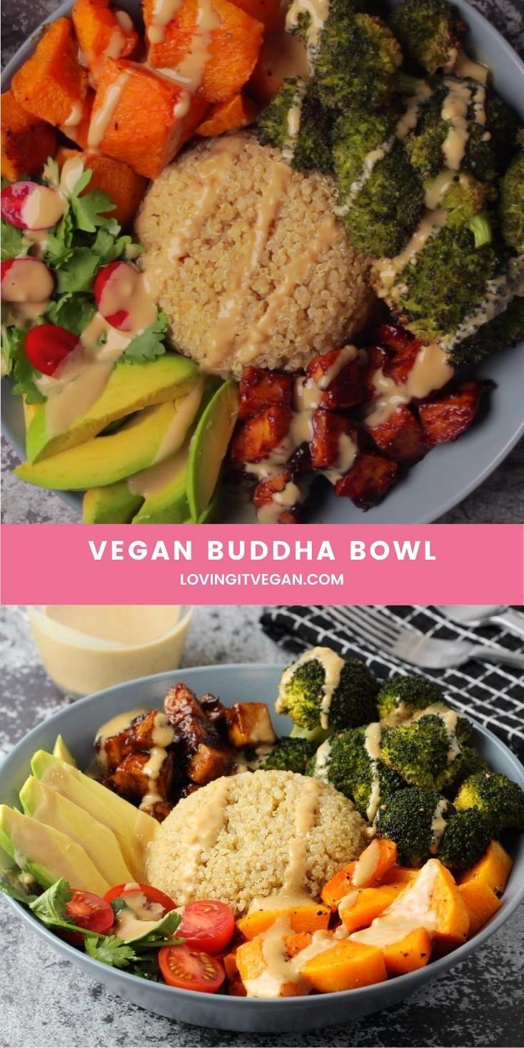 Vegan Buddha Bowl The most delicious vegan buddha