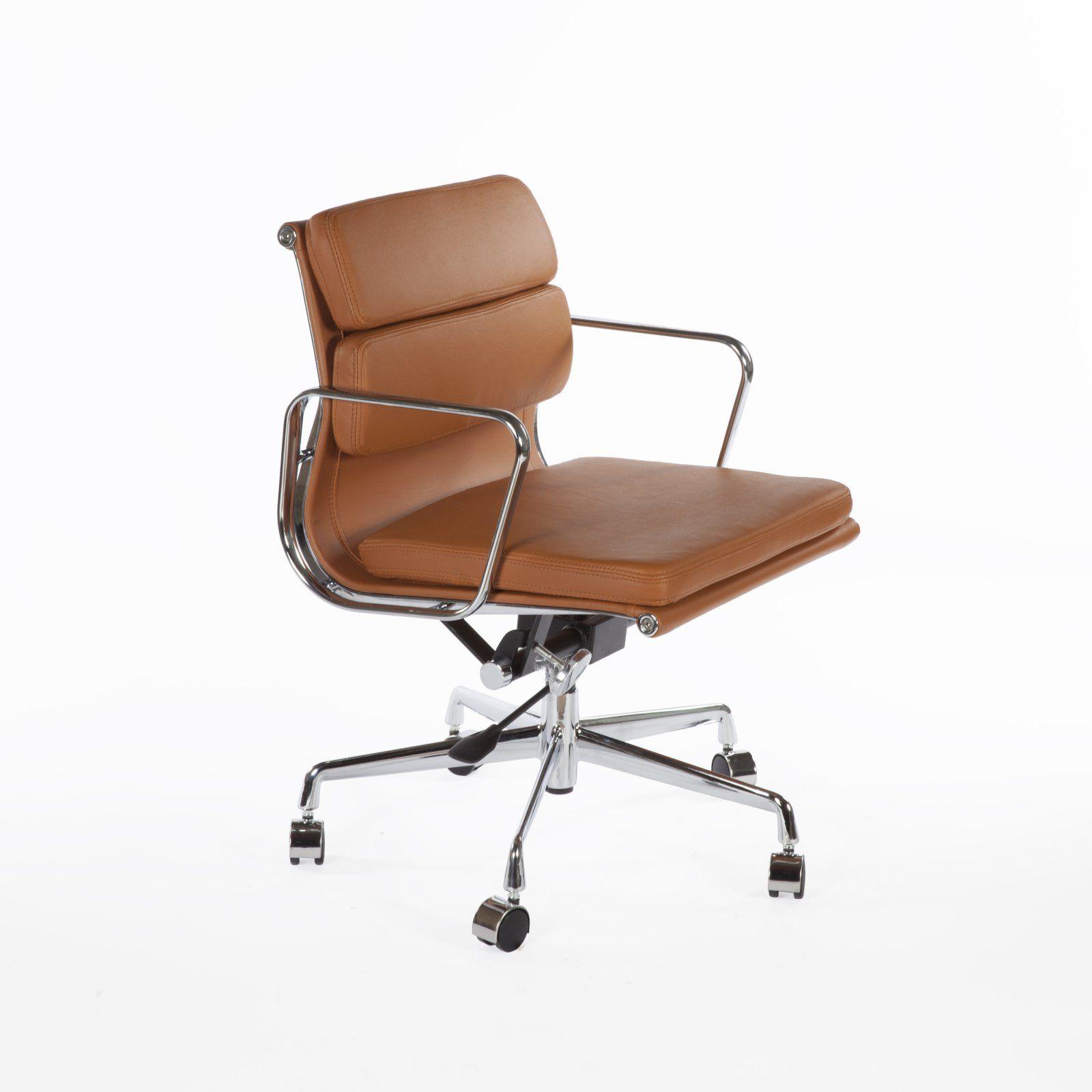 Stilnovo Professional Split Leather Padded Office Swivel Desk
