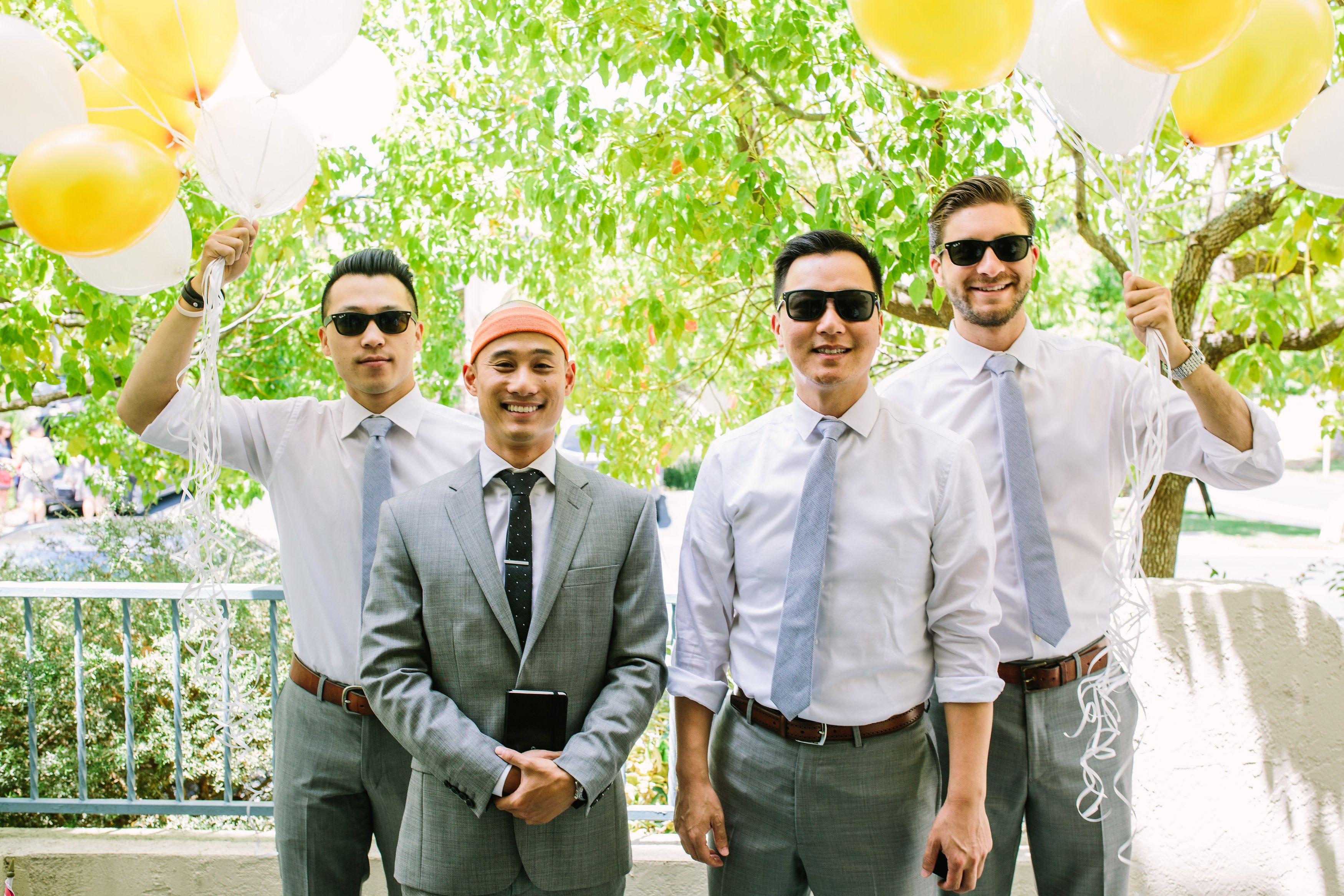 Sarah & Nathan's Redwood Picnic Wedding at Huddart Park in Woodside, California. See more: http://bit.ly/1O6HQH6 || Pop Fizz Weddings || Denver, Colorado